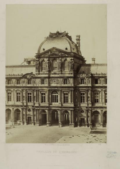 PAVILLON DE L'HORLOGE - COUR DU LOUVRE A PARIS | Paris Musées