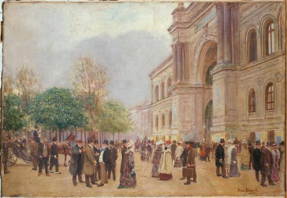 La sortie du salon au palais de l 39 industrie paris mus es - Salon de l industrie paris ...