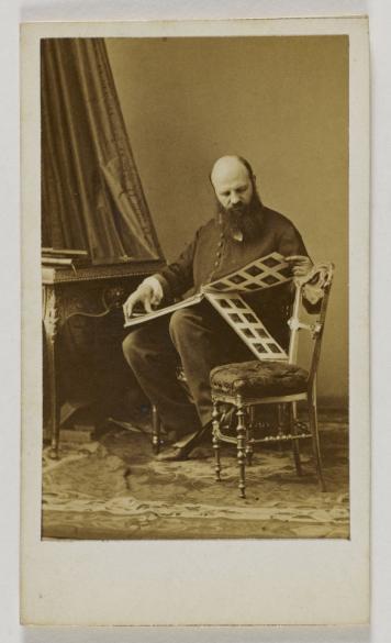 Carte De Visite Photographie DAndr Adolphe Eugne Disdri 1819 1889 Tirage Sur Papier Albumin Paris Muse Carnavalet