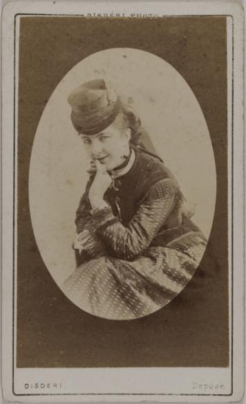Carte De Visite Recto Photographie DAndr Adolphe Eugne Disdri 1819 1889 Tirage Sur Papier Albumin 1872 Paris Muse Carnavalet