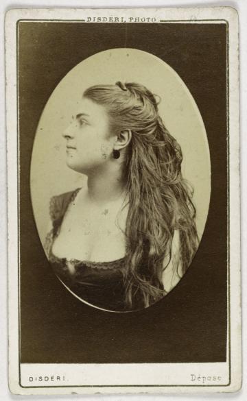 Portrait De Constance Actrice