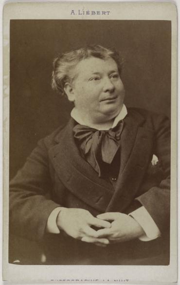 Portrait De Daubray Michel Rene Thibaut 1837 1892 Comique Au Theatre Du Palais Royal Carte Visite Recto Tirage Sur Papier Albumine 1879