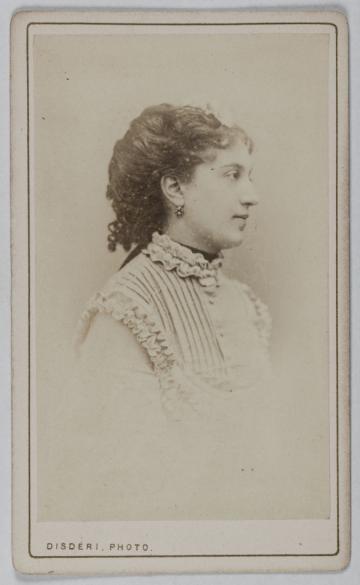 Photographie DAndr Adolphe Eugne Disderi 1819 1889 Carte De Visite Recto Tirage Sur Papier Albumin Avant 1887 Paris Muse Carnavalet