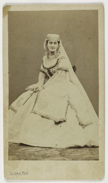 Carte De Visite RectoTirage Sur Papier Albumin Entre 1860 1890 Photographie Disdri Paris Muse CarnavaletC Adolphe Eugne