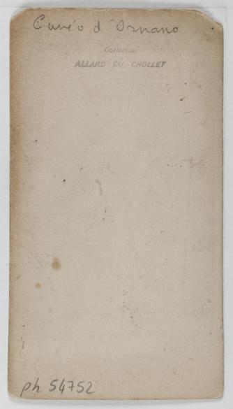 Carte De Visite Verso Tirage Sur Papier Albumin 1860 1890 Paris Muse CarnavaletC Jean Nicolas Truchelut Carnavalet Roger Viollet