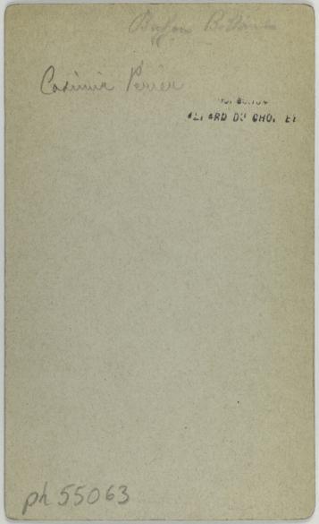 Portrait DAuguste Casimir Perier 1811 1876 Homme Politique Carte De Visite Verso Photographie Danonyme Tirage Sur Papier Albumine