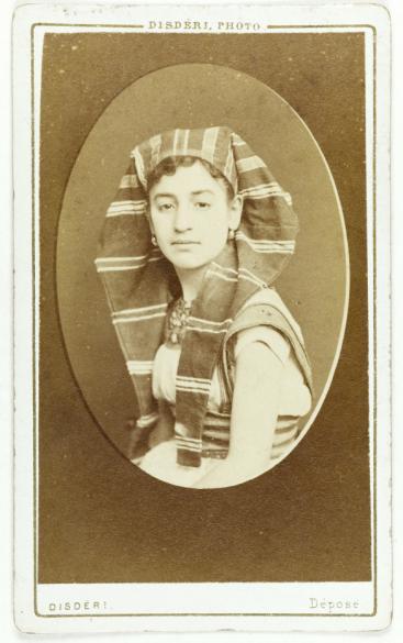 Portrait De Travers Ou Traners Danseuse Carte Visite Recto Photographie Disdri Tirage Sur Papier Albumin 1860 1890 Paris Muse Carnavalet