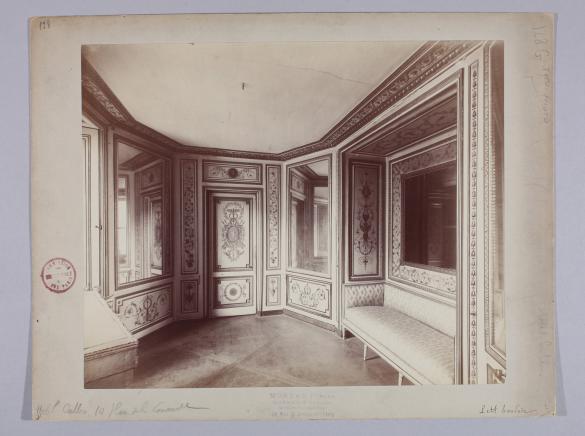 Petit boudoir h tel crillon 10 place de la concorde vue for Boudoir hotel