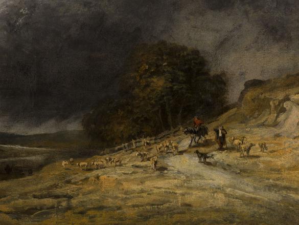 Troupeau sous l'orage | Paris Musées