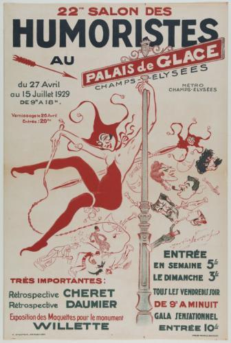22me SALON DES/ HUMORISTES/ AU/ PALAIS de GLACE/ CHAMPS-ELYSEES/ du ...