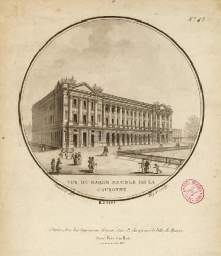 Vue Du Garde Meuble De La Couronne N 43 Paris Musees