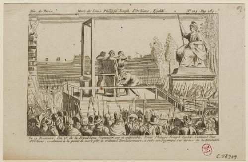 Rèv. de Paris. - Mort de Louis-Philippe Joseph . Egalité - N º214 ...