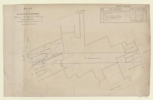 Plan De La Rue LEcole Polytechnique