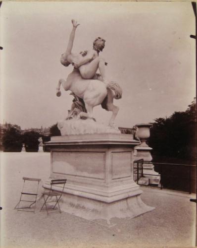 Enl vement de d janire par le centaure nessus sculpture par laurent honor m - Enlevement encombrant paris ...