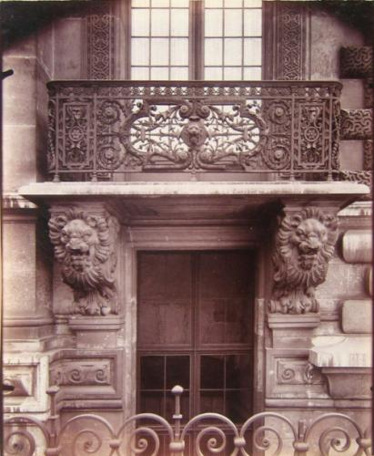 Balcon En Fer Forge Porte Palais Du Louvre Pavillon De Marsan