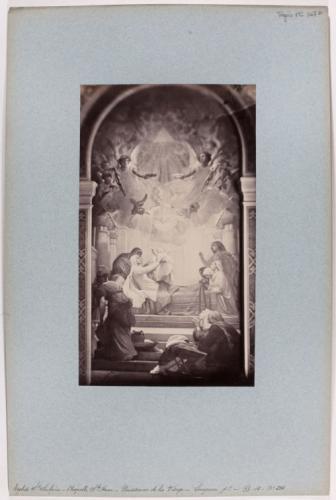 Reproduction d 39 un tableau la naissance de la vierge par lenepveu chapelle sainte anne - Magasin reproduction tableau paris ...