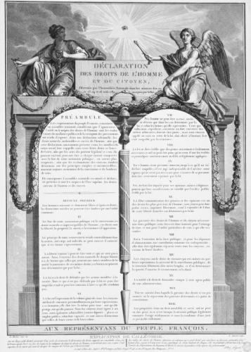Declaration des droits de l'homme et du citoyen : décrétés ...