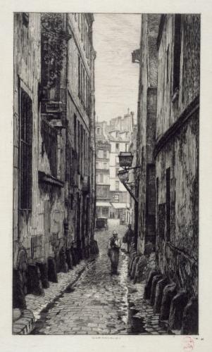 Rue du Croissant. | Paris Musées