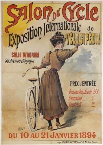Salon du cycle exposition internationale de velocipedie for Prix entree salon du bourget 2015