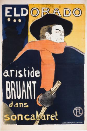 Beau design joli design meilleur service ELDORADO/ aristide/ BRUANT/ dans/ son cabaret | Paris Musées