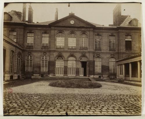 Cour De Lhtel Biron Ou Peyrene Moras Actuel Muse Rodin