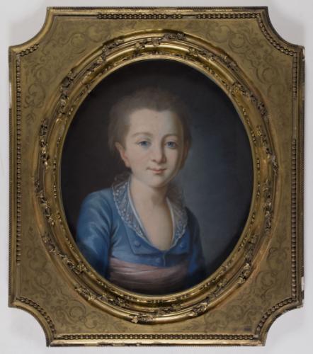 Portrait présumé du premier dauphin, Xavier-Louis-Joseph (octobre 1781-juin  1789), frère aîné de Louis XVII   Paris Musées