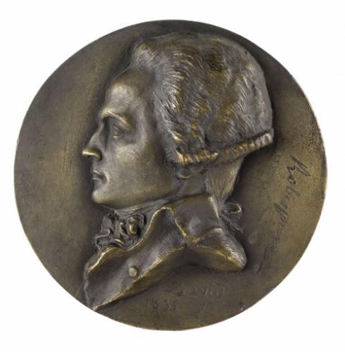 Voir tous les visuels (2). Portrait de Maximilien De Robespierre