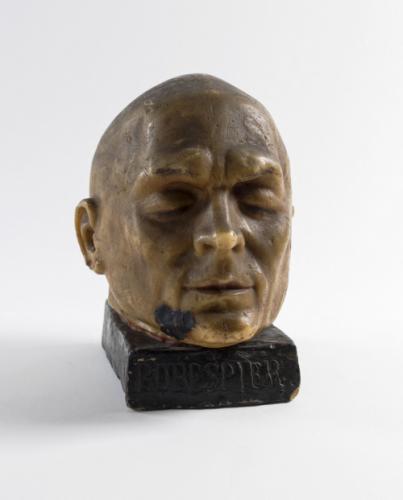 Voir tous les visuels (2). Portrait de Maximilien Robespierre