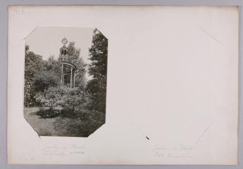 Belvédère de Verniquet, le Jardin des Plantes, le labyrinthe (et la ...