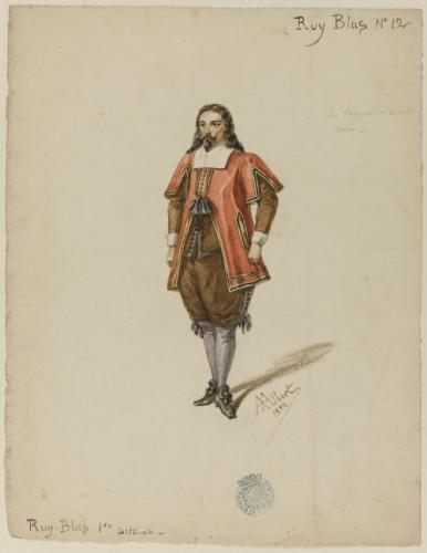 Ruy Blas 1er costume