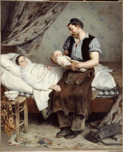Le nouveau-né   Paris Musées