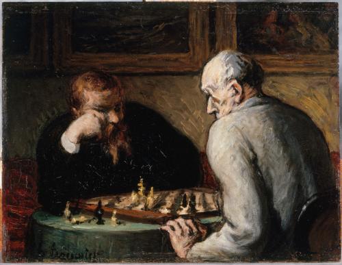 Joueurs d'échecs | Paris Musées