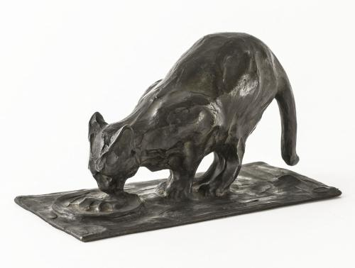 Chat à l'écuelle   Paris Musées