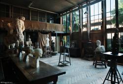 vue de l'atelier au musée Bourdelle